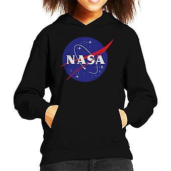Camiseta de encapuchados el NASA Insignia clásica niño