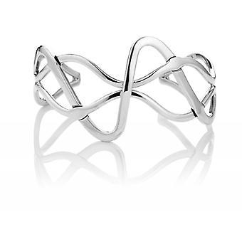 Cavendish französische Sterling Silber abstrakt fließen Armreif