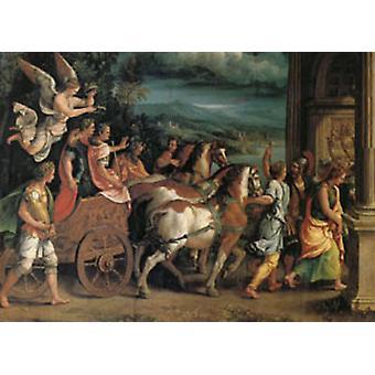 Triumph o Titus og Vespasian, Giulio Romano