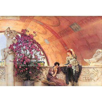 Unconscious Rivals, Alma-Tadema Sir Lawrence, 45.1 x 65.8 cm