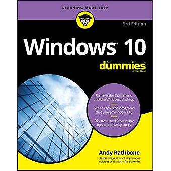 Windows 10 For Dummies by Windows 10 For Dummies - 9781119470861 Book