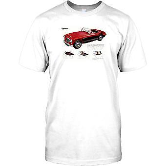 Austin Healey 100-6 Sport - britische Oldtimer Kinder T Shirt