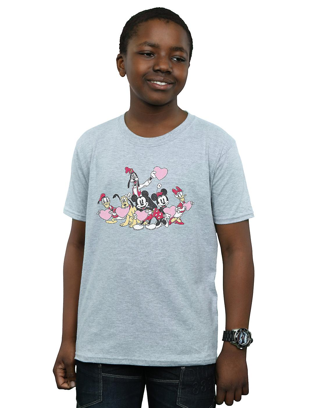 Disney Boys Mickey Mouse Love Friends T-Shirt