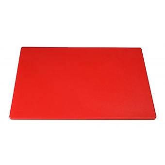 Heavy Duty grande Chopping Board Red