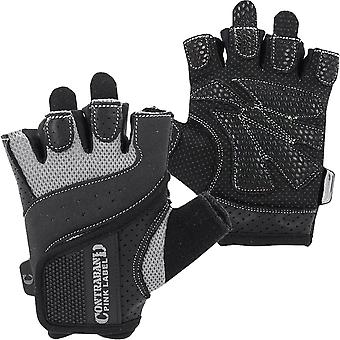 Contraband Sports 5137 Pink Label Weight Lifting Gloves - Gray