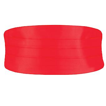 Dobell garçons rouge drapée ceinture réglable Tuxedo mariage accessoire