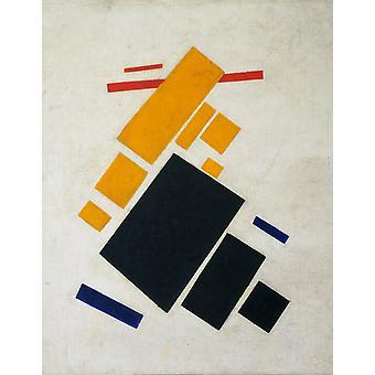 The Plane is flight, Kasimir Malevich, 57.3 x 48.3 cm