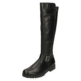 Dames Remonte knie hoge laarzen R2291