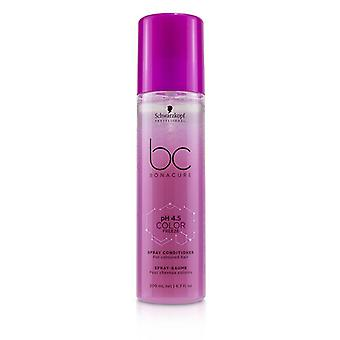 Schwarzkopf Bc Bonacure Ph 4.5 Color Freeze Spray Conditioner (pour cheveux colorés) - 200ml/6.7oz
