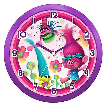 Dreamworks Trolls Wall Clock