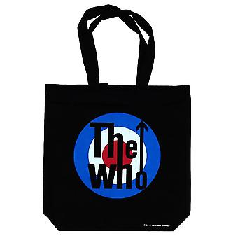 The Who Target Zip Top Cotton Tote Bag