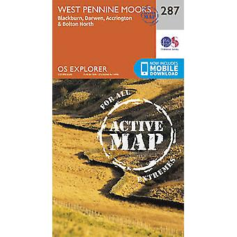 West Pennine Moors - Blackburn - Darwen and Accrington by Ordnance Su