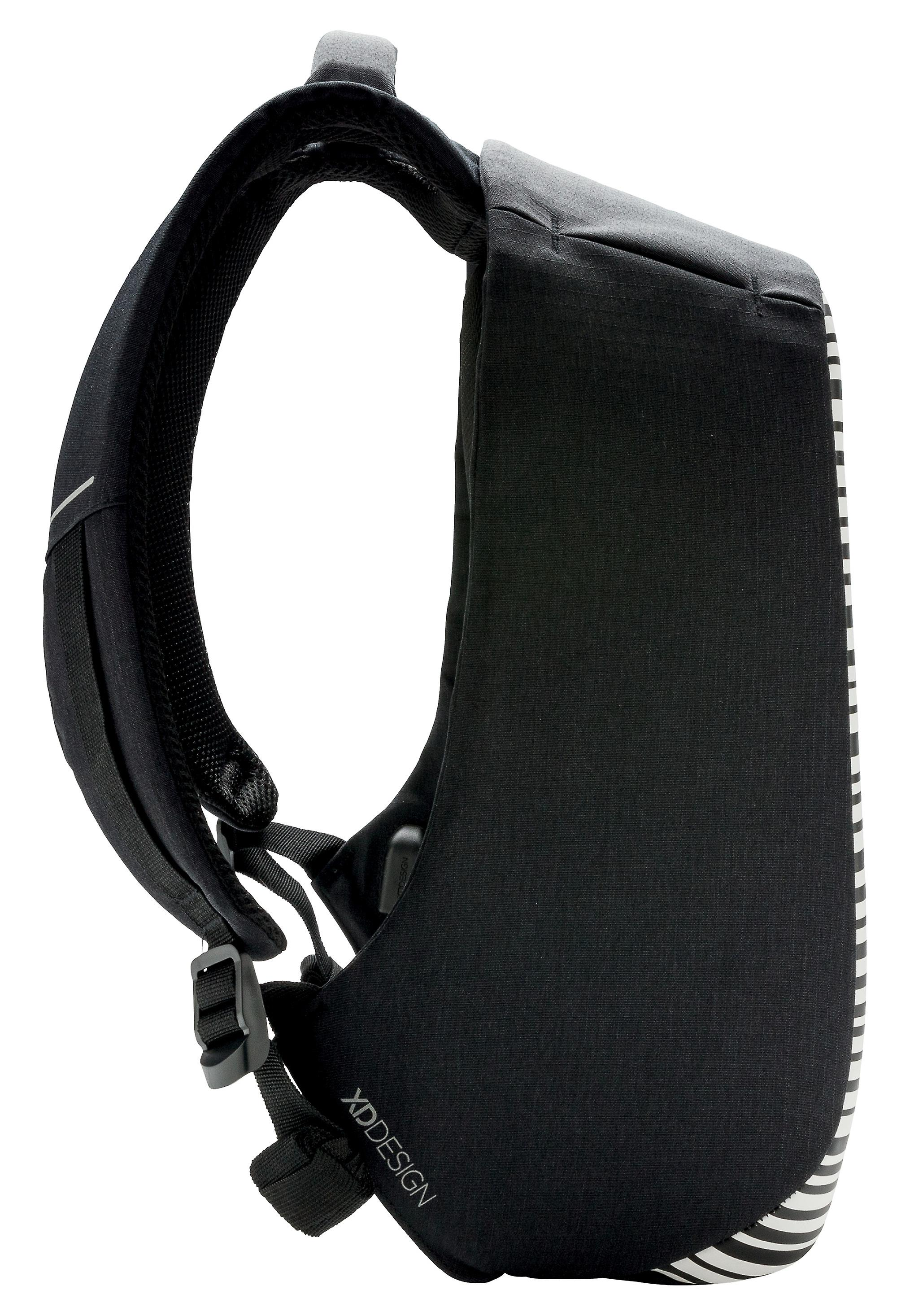XD Design Bobby Compact Print Anti-Diebstahl Laptop Rucksack mit USB (Unisex)