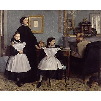 La famille Bellelli, Edgar Degas, 50x40cm