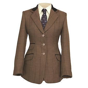 Veste Shires Childs Huntingdon - Brown Herringbone
