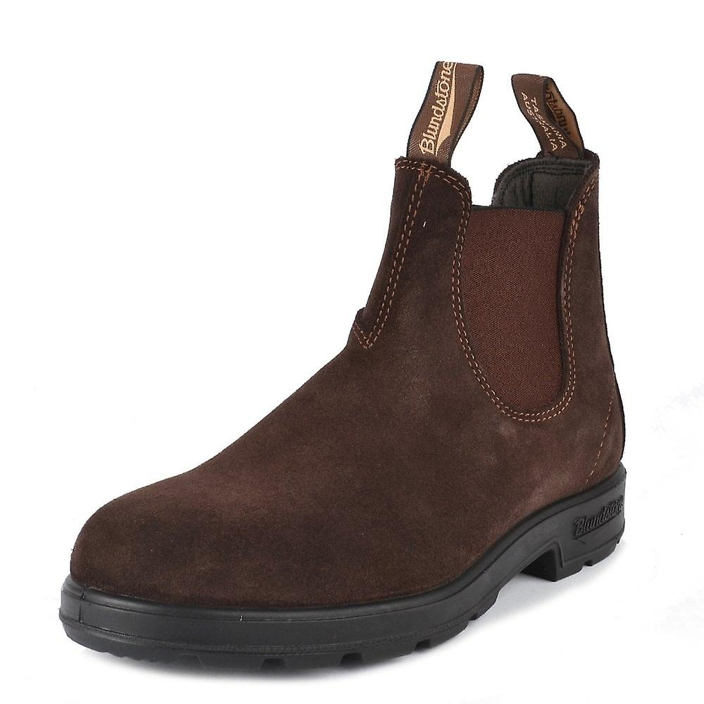 Blundstone Hommes apos;s 1458 Brown Suede Boot