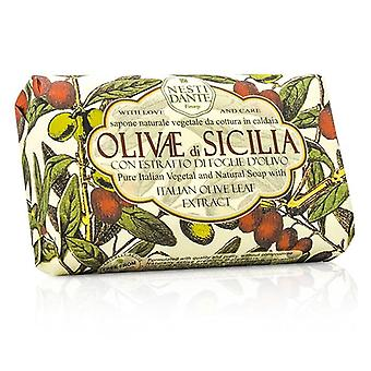 Nesti Dante Natural Soap With Italian Olive Leaf Extract  - Olivae Di Sicilia - 150g/3.5oz