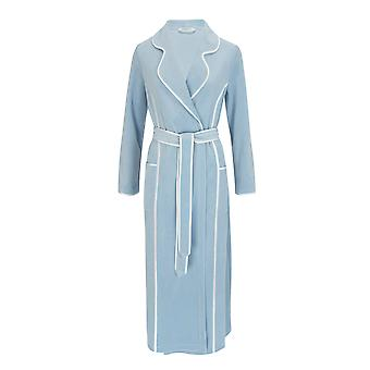 Féraud 3883035-11828 Women's Powder Blue Robe Loungewear Bath Dressing Gown