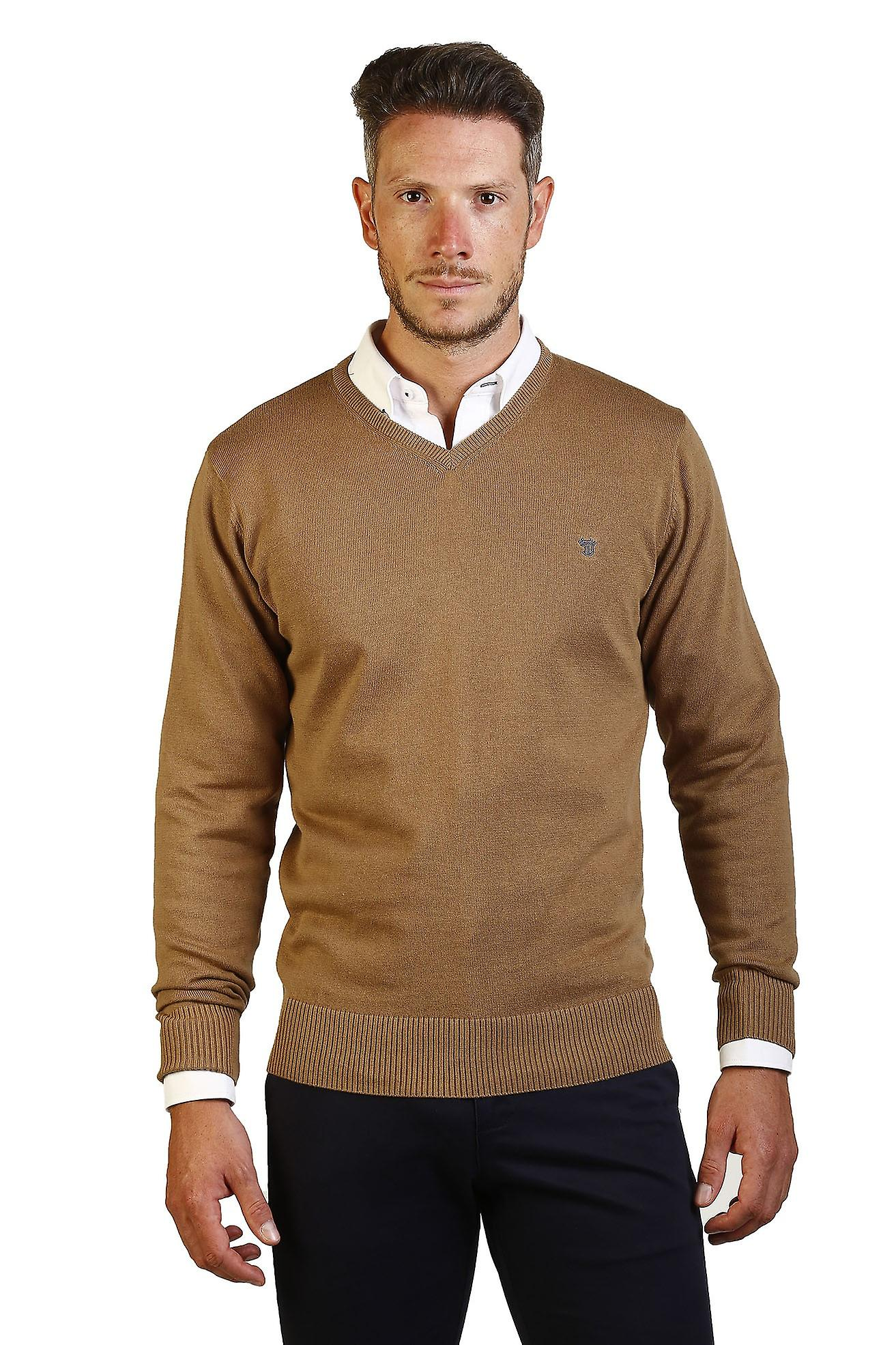 Jersey Men Neck Peak The Time Of Bocha JI1JPICO-Camel 740