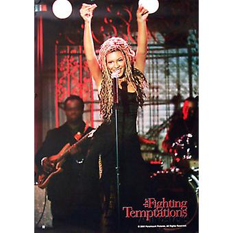 Beyonce (Singing Reprint) The Fighting Temptations (2003) Reprint Cinema Poster