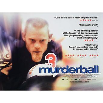 Murderball (yksipuolinen) alkuperäinen elokuva teatteri juliste