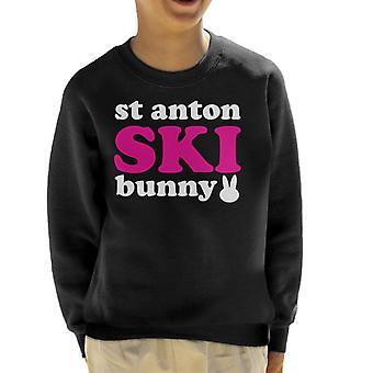 St Anton Ski Bunny Kid's Felpa
