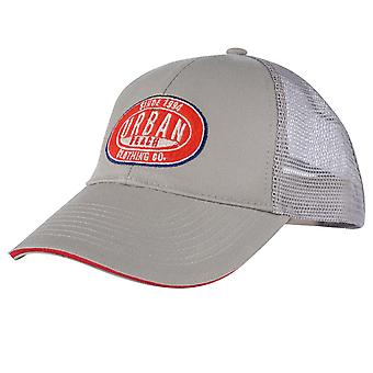 Urban Beach Men-apos;s Attendant Trucker Cap - Gris