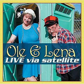 OLE & Lena Live Via de satelliet