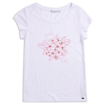 Animal rullande regn kortärmad T-shirt i vitt