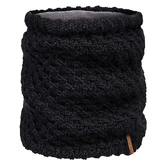 Roxy Blizzard Collar Neck Warmer in True Black