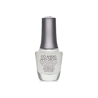 Morgan Taylor Go Ahead And Grow Nail Strength Growth Treatment And Base Coat