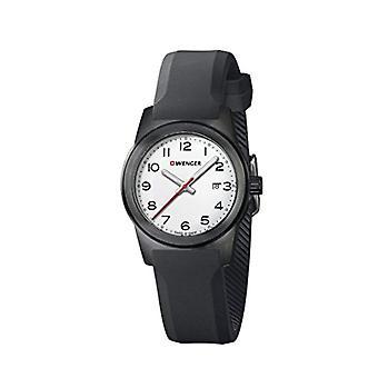ונגר אישה אנלוגית שעון קוורץ עם רצועה סיליקון No.: 01.0411.135