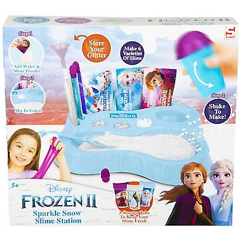 Disney Frozen Frozen II Sparkle Snow Slime Station