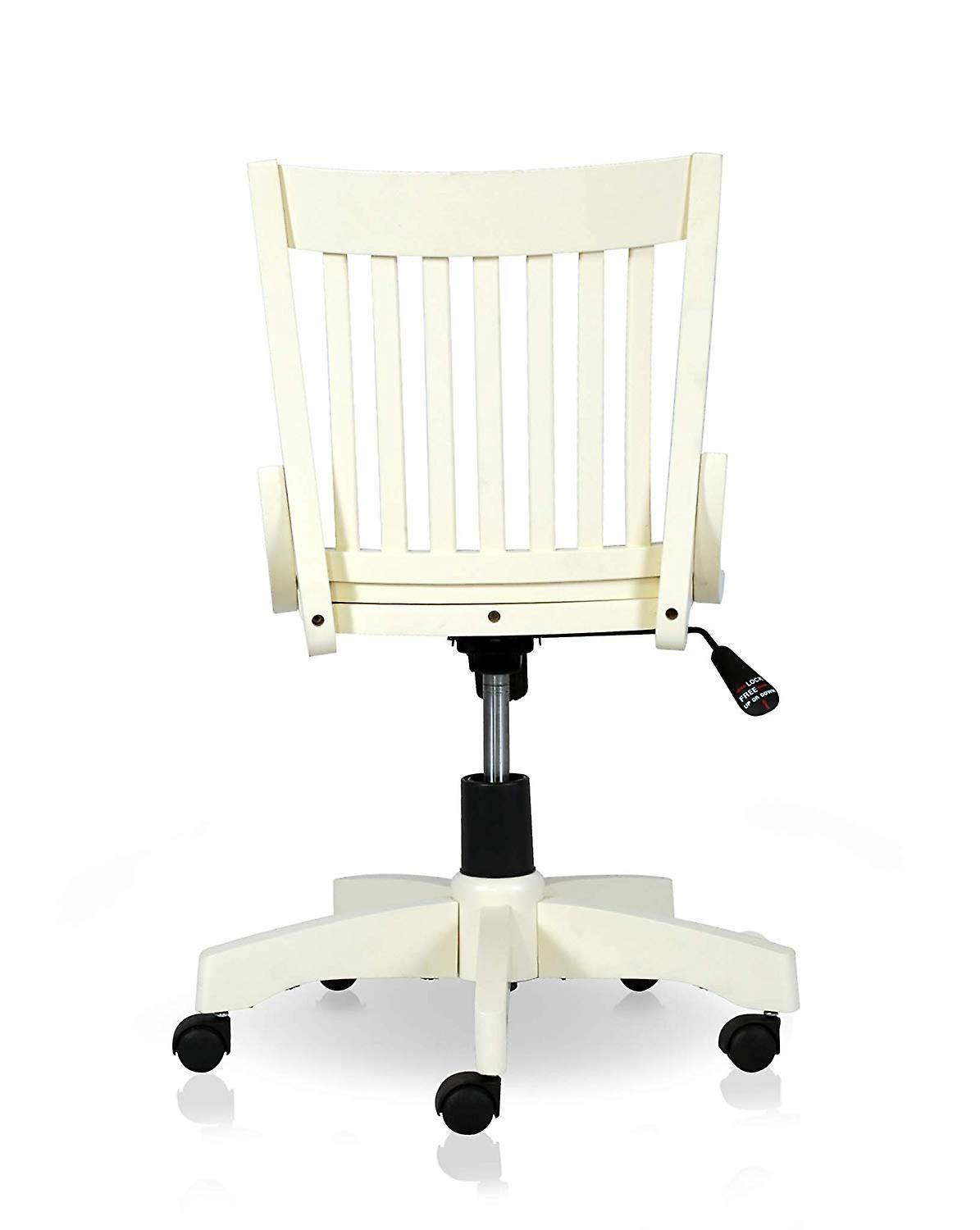 Penguin Home Office Chair in Rubberwood – Fully Assembled