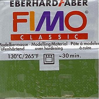 63g Fimo Classic Block Clay - Leaf Green
