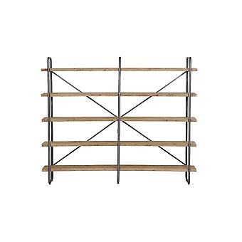 Light & Living Shelving Unit 5 Layers 244x47x200 Cm CALLAO Wood
