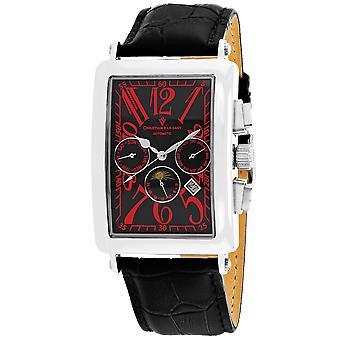 Christian Van Sant Men-apos;s Prodigy Black Dial Watch - CV9134