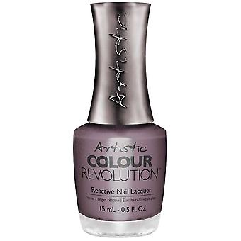 Artistic Colour Revolution (Reactive Nail Lacquer) Breast Cancer Awareness - Don't Drive Me Mad (2300236) 15ml