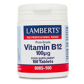 Lamberts Vitamin B12 100ug Tablets 100 (8085-100)