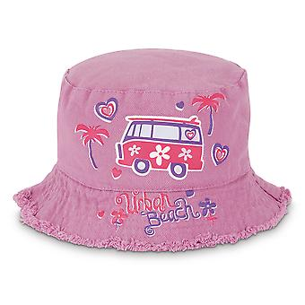 Girls Printed Bug Beanie Hat - Urban Beach