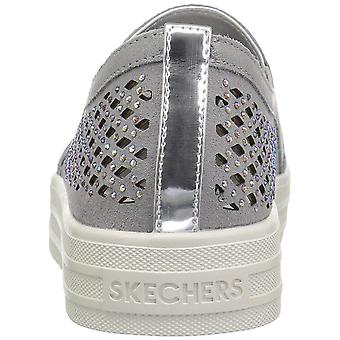 Skecher Street Women's Double up-Diamond Girl Fashion Sneaker