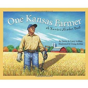 One Kansas Farmer: een Kansas Number Book (Ontdek Amerika state by state)