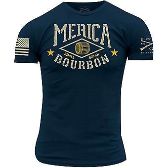Grunt Stil Merica Bourbon Fass T-Shirt - Marine