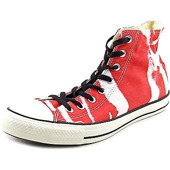 Converse 142213F Men Chuck Taylor All Star Bleach HI RED/White