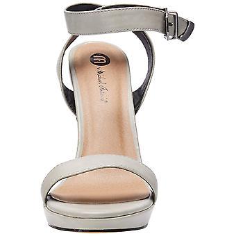 Michael Antonio Women's Ryanna Heeled Sandal Grey 10 M US