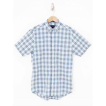 GANT Multi Check Camisa de Ajuste Regular - Khaki