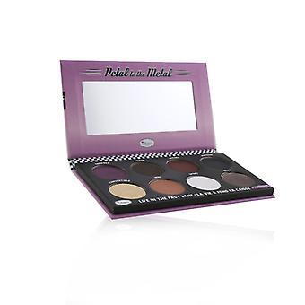 Thebalm Petal To The Metal Va Va Vroom Cream Eyeshadow Palette (8x Eyeshadow) - # Shift Into Neutral - 10.5g/0.37oz