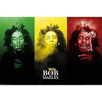Bob Marley, Maxi Poster - Tricolour