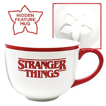 Stranger Things Demogorgon Sculpted Hidden Feature Mug