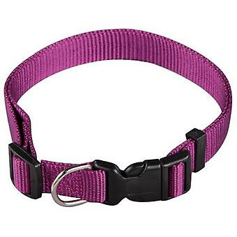 Arppe Basic Nylon Necklace Purple Different Sizes for Dog